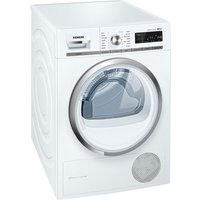Siemens Tumble Dryer iQ500 WT47W590GB Condenser  - White, White