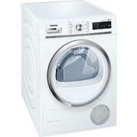SIEMENS  iQ500 WT47W590GB Condenser Tumble Dryer - White, White
