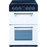 STOVES Richmond 550DFW Dual Fuel Cooker - White, White