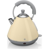 SWAN Pyramid SK261030CN Traditional Kettle - Cream, Cream