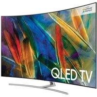 75 SAMSUNG QE75Q8CAMT Smart 4K Ultra HD HDR Curved Q LED TV