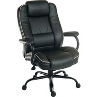 TEKNIK Goliath Duo Bonded Leather Reclining Executive Chair - Black, Black