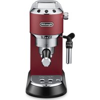 DELONGHI Dedica EC685.R Coffee Machine - Red, Red