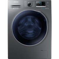 Samsung Ecobubble Wd90j6a10ax 8 Kg Washer Dryer - Graphite, Graphite