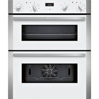 NEFF J1ACE2HW0B Electric Built-Under Double Oven - White, White