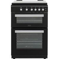 BELLING FSG608Dc 60 cm Dual Fuel Cooker - Black, Black