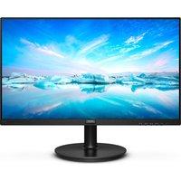 "PHILIPS 221V8A Full HD 21.5"" LCD Monitor - Black, Black"
