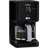 TEFAL Smart N Light Filter Coffee Machine - Black, Black