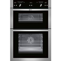NEFF U16E74N5GB Electric Double Oven - Stainless Steel, Stainless Steel