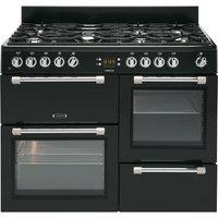 LEISURE Cookmaster CK100F232K Dual Fuel Range Cooker - Black, Black