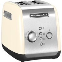 Buy KITCHENAID 5KMT2116BAC 2-Slice Toaster - Cream, Cream - Currys PC World