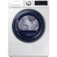 Samsung Dv80n62532w Smart 8 Kg Heat Pump Tumble Dryer - White, White