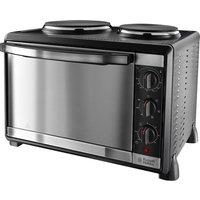 RUSSELL HOBBS Mini Kitchen 22780 Electric Mini Oven - Black Metal, Black