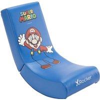 X ROCKER Video Floor Rocker Gaming Chair - Super Mario