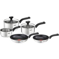 TEFAL Comfort Max C972S544 SS 5-piece Cookware Set - Stainless Steel, Stainless Steel