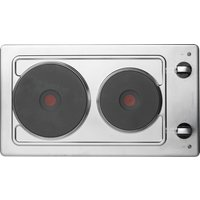 HOTPOINT First Edition E320SKIX Electric Solid Plate Hob - Stainless Steel, Stainless Steel