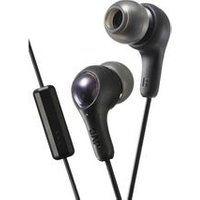 JVC HA-FX7M Gumy Plus Headphones - Black sale image