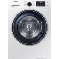 SAMSUNG ecobubble WW80J5555FW 8 kg 1400 Spin Washing Machine - White, White
