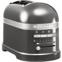 Buy KITCHENAID Artisan 5KMT2204BMS 2-Slice Toaster - Medallion Silver, Silver - Currys PC World