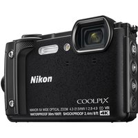 Nikon COOLPIX W300 Tough Compact Camera - Black, Black