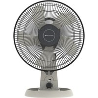 "BIONAIRE High Performance 12"" Desk Fan - Grey, Grey"