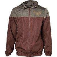 NORDICGAMI Zelda Windbreaker Jacket - Large, Brown, Brown