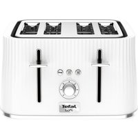 Buy TEFAL Loft TT60140 4-Slice Toaster - Pure White, White - Currys PC World