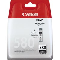 CANON PGI-580 Black Ink Cartridge, Black