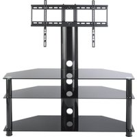 Ttap Classik Tvs1009 1100 Mm Tv Stand With Bracket - Black, Black
