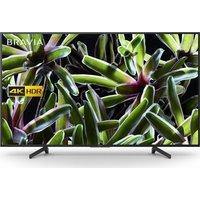 "Sony BRAVIA KD-43XG7003BU 43"" Smart 4K Ultra HD HDR LED TV, Sand"