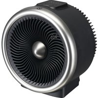 L20TFH19 Portable Hot   Cool Fan Heater   Black  Black