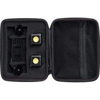 LUME CUBE Zipper Case - Black, Black