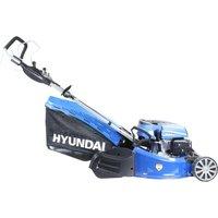HYUNDAI HYM480SPR Cordless Rotary Lawn Mower - Blue, Blue