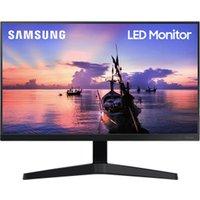"SAMSUNG LF24T350FHRXXU Full HD 24"" LED Monitor - Black, Black"