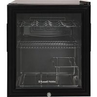 RUSSELL HOBBS RHGWC1B-C-LCK Drinks and Wine Cooler - Black,