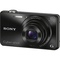 Sony Cyber-shot DSC-WX220B Compact Camera - Black, Black