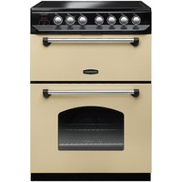 RANGEMASTER Classic 60 Electric Ceramic Cooker - Cream and Chrome, Cream