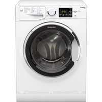 HOTPOINT Smart RSG845JX Washing Machine - White, White