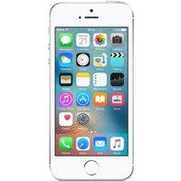 APPLE iPhone SE - 128 GB, Silver, Silver