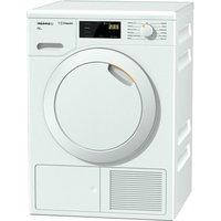 MIELE Eco TDB120WP Heat Pump Tumble Dryer - White, White