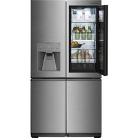 LG Signature LSR100 Smart 60/40 Fridge Freezer - Stainless Steel, Stainless Steel