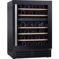 CANDY CCVB 60D UK Wine Cooler - Black, Black