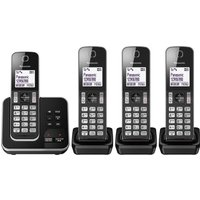 Click to view product details and reviews for Panasonic Kx Tgd624eb Cordless Phone Quad Handsets.