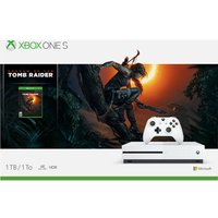 MICROSOFT Xbox One S with Shadow of the Tomb Raider