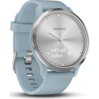 GARMIN VIVOMOVE HR Sport Hybrid Smartwatch   Seafoam  Small Medium