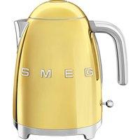 50s Style KLF03GOUK Jug Kettle - Gold, Gold