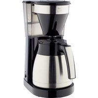 Easy Top Therm II Filter Coffee Machine - Black & Stainless Steel, Stainless Steel