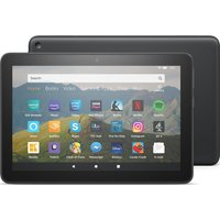 AMAZON Fire HD 8 Tablet (2020) - 64 GB, Black, Black