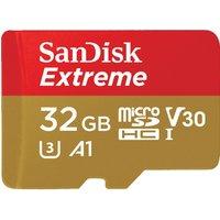 SANDISK Extreme Class 10 microSDHC Memory Card - 32 GB