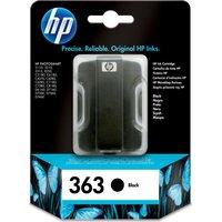 HP 363 Black Ink Cartridge, Black